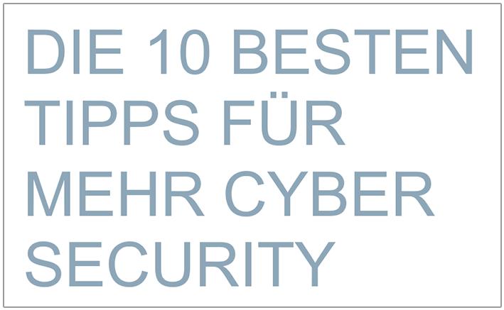 Whitepaper Cyber Security Mittelstand CSOC Die 10 besten Tipps für mehr Cyber Security Daten Schutz CSOC SOC