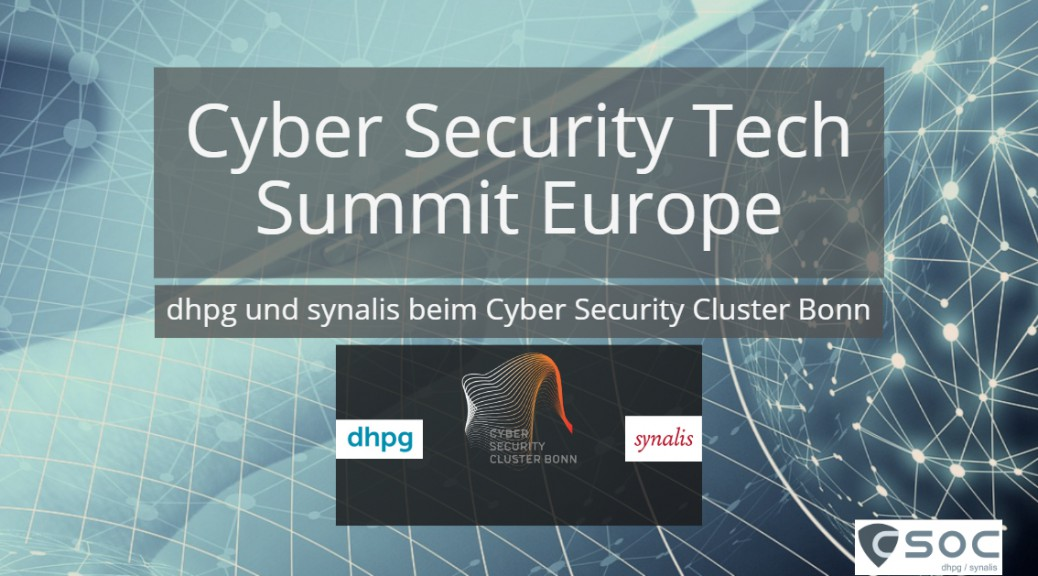 Cyber Security Cluster Bonn Summit