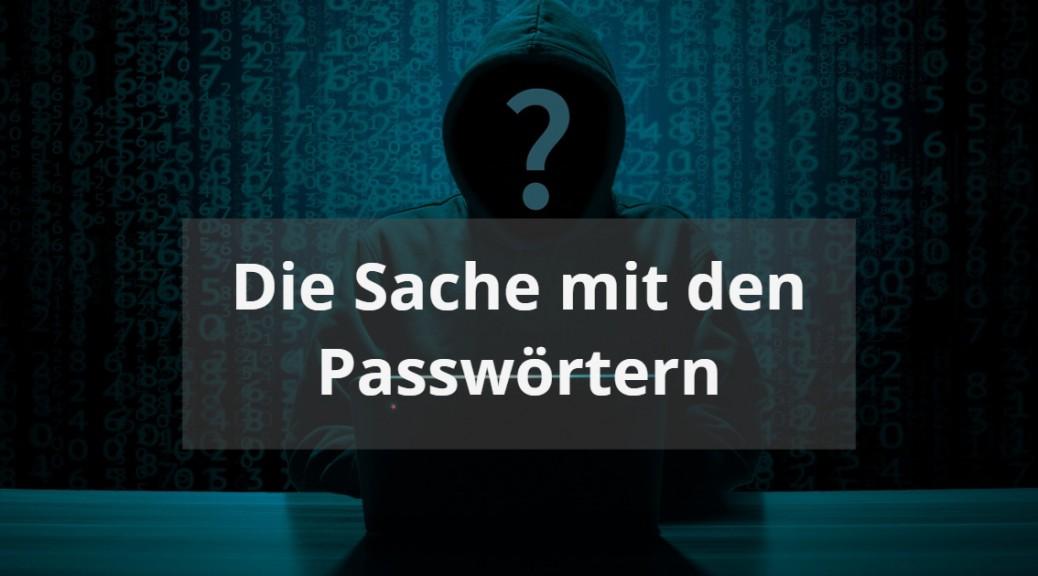 Passwörter vor Hackern schützen