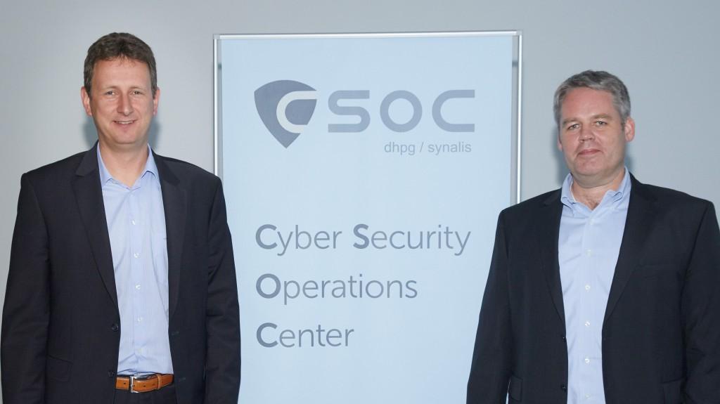 CSOC Leitung Markus Müller und Andreas Lau