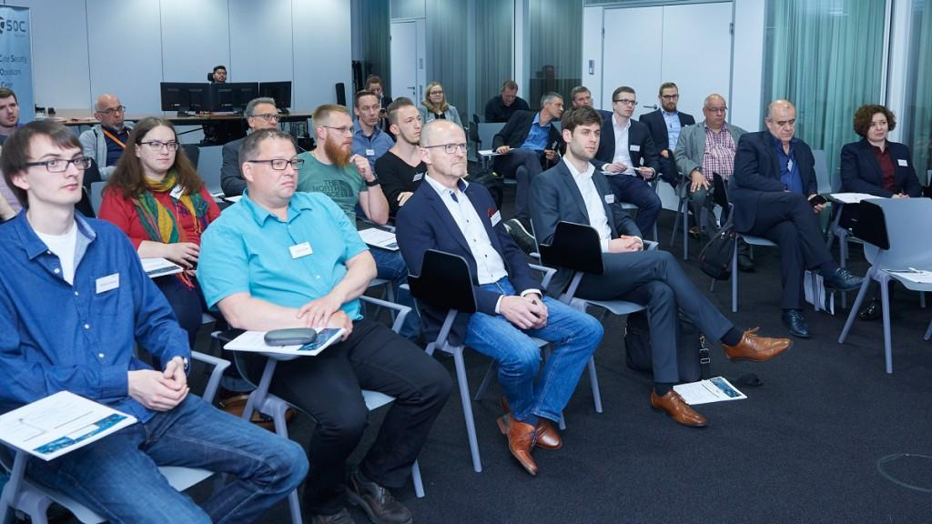 CSOC Meetup Audience aus HUB MItgliedern und Interessierten