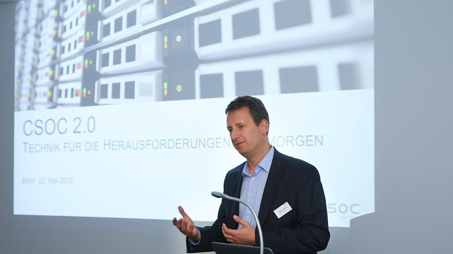CSOC Meetup Markus Müller über Herausforderungen