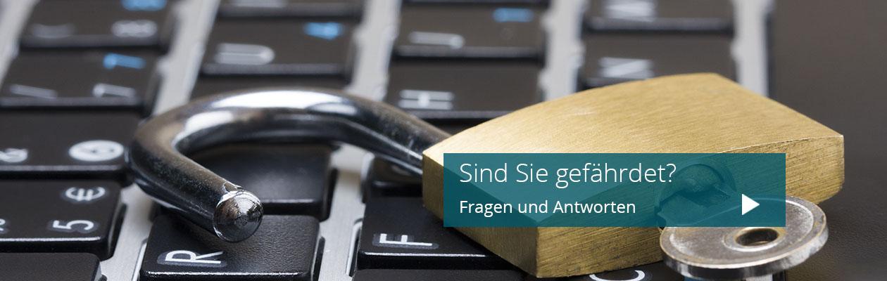 Cyber Security Gefahren KMU