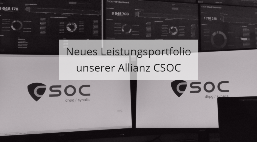 Neues Portfolio CSOC Allianz