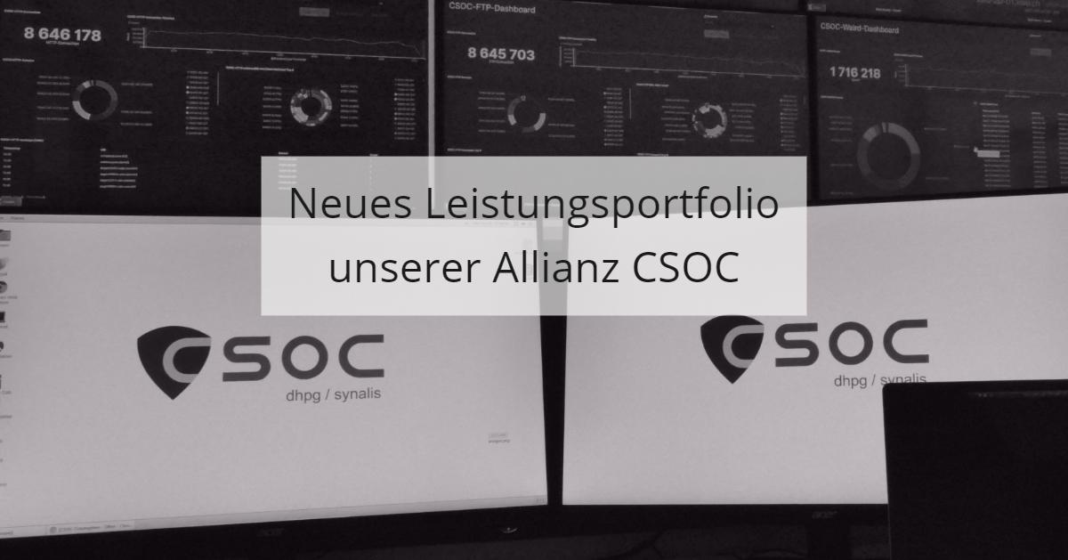 Neues Portfolio CSOC Allianz
