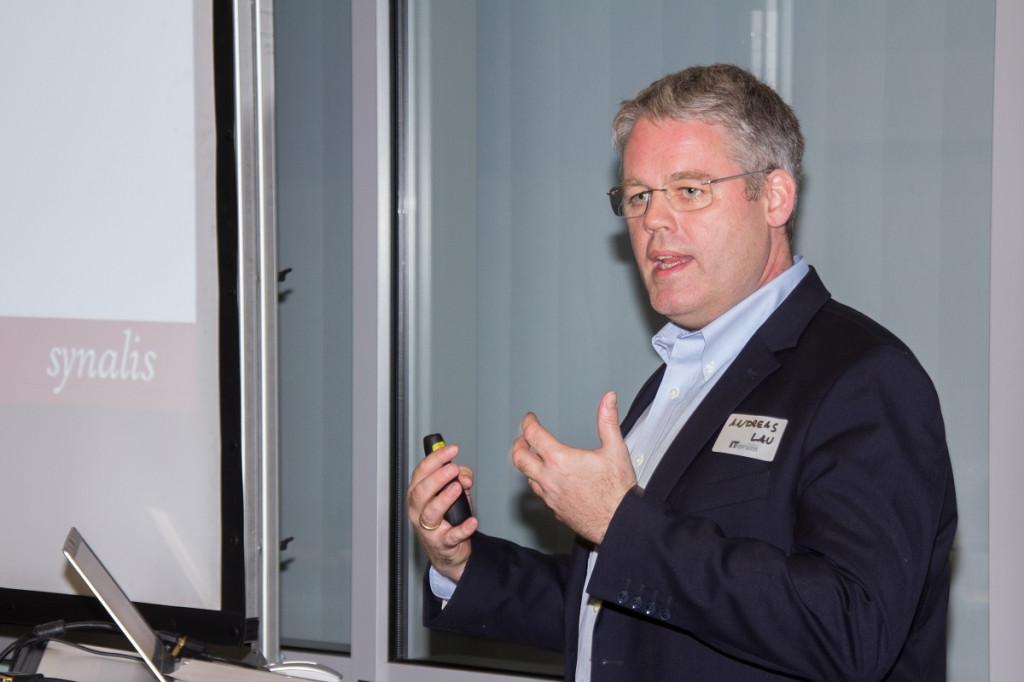CSOC Speaker Andreas Lau beim IT-Forum Oberberg